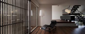 Habitação Unifamiliar, Leiria > Interior, Salas e Ripado exterior
