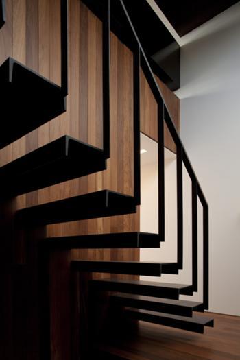 Habitação Unifamiliar, Leiria > Interior, Escada piso -1
