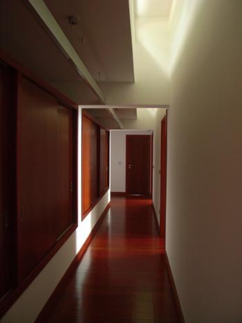 Vista corredor piso superior