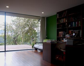 vista interior - escritório