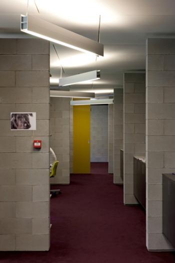 Incubadora de Indústrias Criativas InSerralves > Interior, Circulação