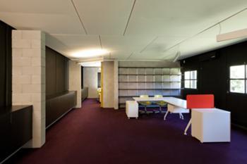 Incubadora de Indústrias Criativas InSerralves > Interior, Espaço de Trabalho