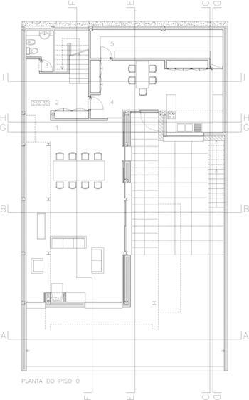 vivendas - planta piso 0