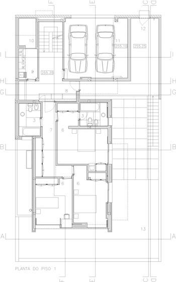 vivendas - planta piso 1