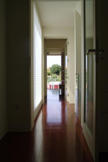 Circulação e acesso ao quarto