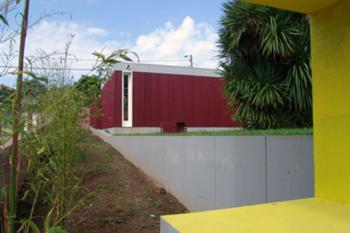 Garagem, desde Nascente