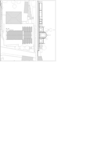 Perfil 5 e planta de cobertura