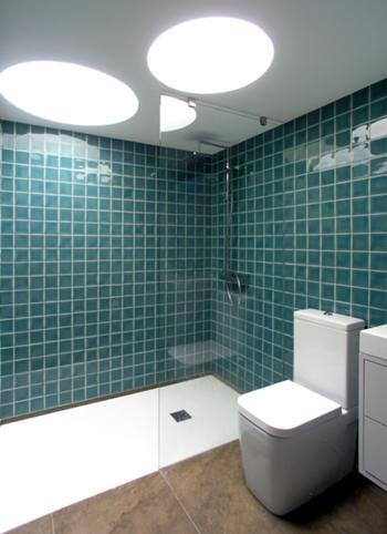 Vista interior - Banho privativo