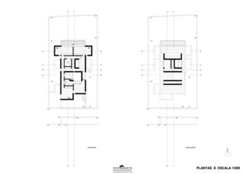 plantas dos piso 1, cobertura