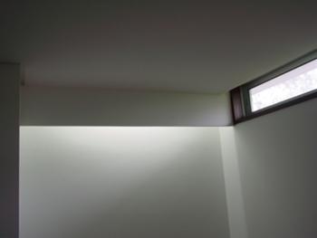 pormenor iluminação da escada