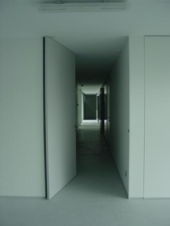 comunicação horizontal - vista a partir da sala polivalente