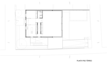 Casa HdM - Planta Piso 0  - 02