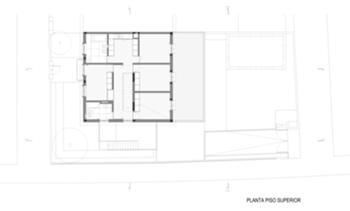 Casa HdM - Planta Piso 1  - 03