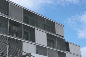 Detalhe da fachada Sul