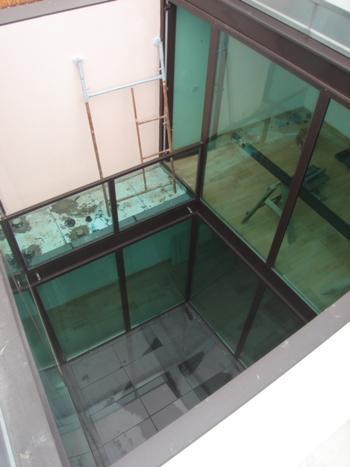 habitação pátio: vista para o acesso, piso 2