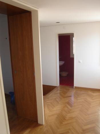 piso 1: vão de quarto e da instalação sanitária