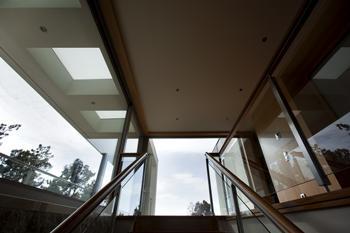 VIsta  da permeabilidade visual  entre o interior e o exterior