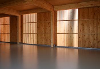 interior garagem