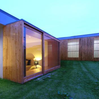 quarto e garagem - exterior