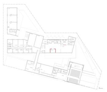 CPR - Centro de Acolhimento - Planta do piso 0