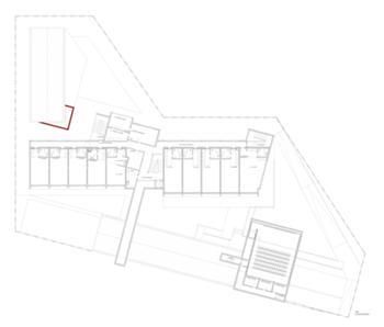 CPR - Centro de Acolhimento - Planta do piso 1
