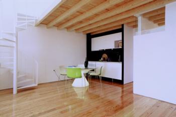 Habitação unifamiliar, Porto > Interior, Kitchnet, Sala