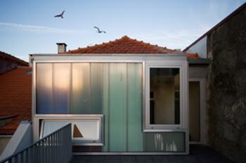 Casa M+M, Porto> Exterior, Fachada traseiras, piso 1