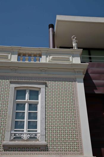 Pormenor fachada principal