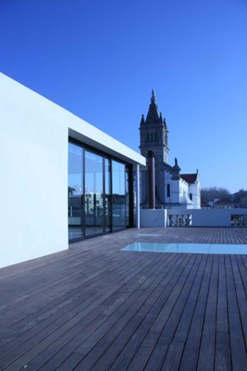 Igreija Matriz desde o terraço