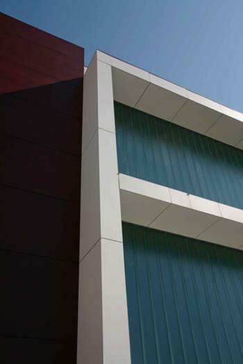Pormenor da fachada principal