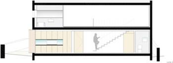 corte 2 (distribuição / cozinha)