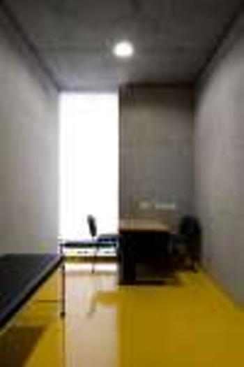 interior gabinete de enfermagem